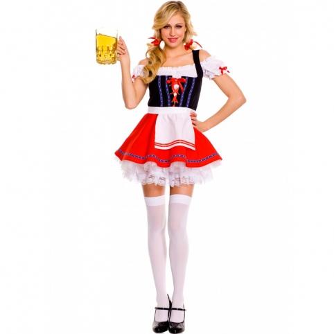Баварский костюм (красный)