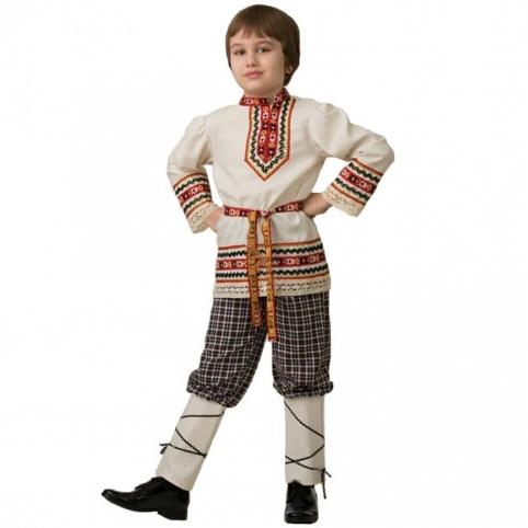 Белорусский национальный костюм для мальчика