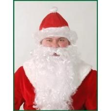 Борода и шапка Деда Мороза