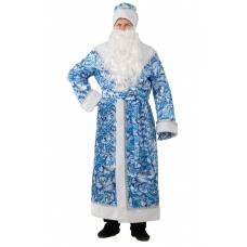 Дед Мороз сказочный взр (синий) (новый - первый прокат)