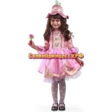 Дюймовочка розовая