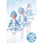 Снегурочка «Гжель» дет.