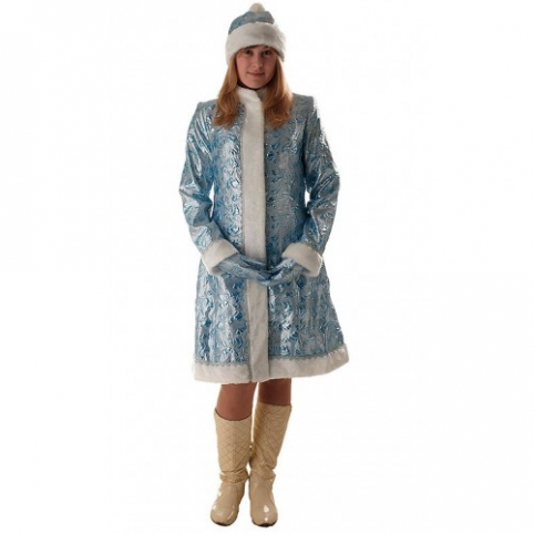 Снегурочка голубая